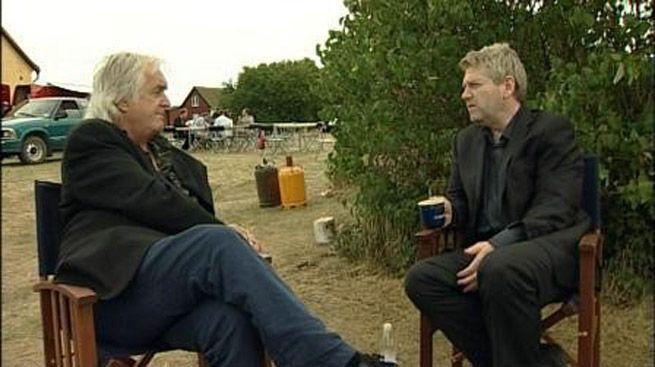 Henning Mankell e Kenneth Branagh [Immagine tratta da tvblog.it - Aggiornamento 5 ottobre 2015]