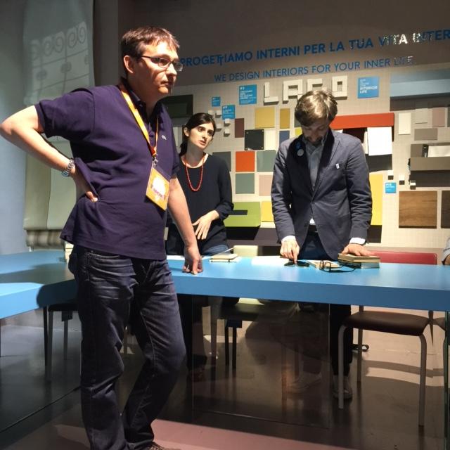 I BeBookers con Simone di Open Milano al primo incontro del bookclub
