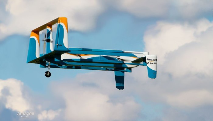 Il nuovo drone di Amazon Prime Air - foto ©Amazon