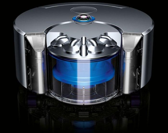 Il robot Dyson 360 - foto ©Dyson
