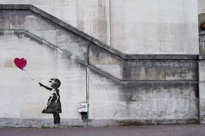 Bansky Balloon Girl