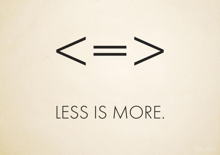 LessIsMore